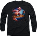 The Flash long-sleeved shirt Fastest Man black