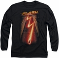 The Flash long-sleeved shirt Flash Ave black