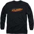 The Flash long-sleeved shirt Logo black