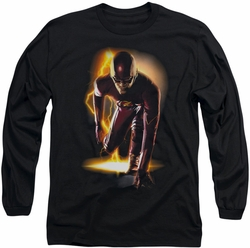 The Flash long-sleeved shirt Ready black
