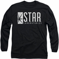 The Flash long-sleeved shirt S.T.A.R. Laboratories black