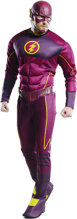 sc 1 st  Urban Collector & The Flash on CW Thorax Muscle Chest adult costume