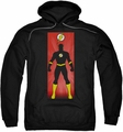The Flash pull-over hoodie Block adult black