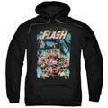 The Flash pull-over hoodie Electric Chair adult black