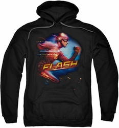 The Flash pull-over hoodie Fastest Man adult black