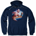 The Flash pull-over hoodie Fastest Man adult navy