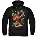 The Flash pull-over hoodie Flash Flare adult black