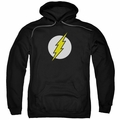 The Flash pull-over hoodie Logo adult black
