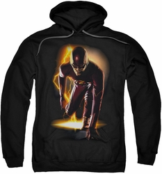 The Flash pull-over hoodie Ready adult black