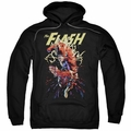 The Flash pull-over hoodie Ripping Apart adult black