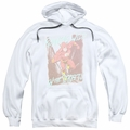 The Flash pull-over hoodie Running Wild adult white