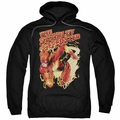 The Flash pull-over hoodie Scarlet Speedster adult black