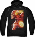 The Flash pull-over hoodie Speed Head adult black