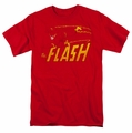 The Flash Speed Distressed mens t-shirt