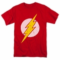 The Flash t-shirt Battle Logo mens red