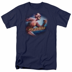 The Flash t-shirt Fastest Man mens navy