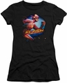 The Flash TV show juniors t-shirt Fastest Man black