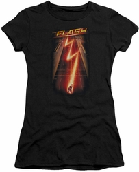 The Flash TV show juniors t-shirt Flash Ave black