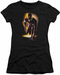 The Flash TV show juniors t-shirt Ready black
