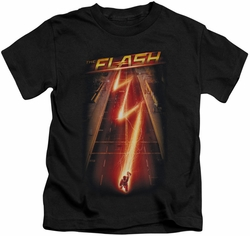 The Flash TV Show kids t-shirt Flash Ave black