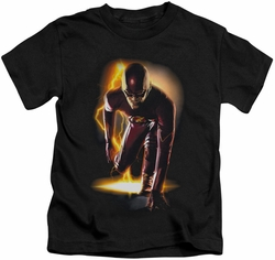 The Flash TV Show kids t-shirt Ready black