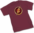 The Flash TV Symbol mens t-shirt