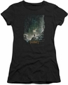 The Hobbit juniors t-shirt At Smaug's Door black