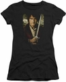 The Hobbit juniors t-shirt Baggins Poster black