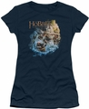 The Hobbit juniors t-shirt Barreling Down navy