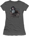 The Hobbit juniors t-shirt Bifur charcoal