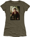 The Hobbit juniors t-shirt Bilbo Poster military green