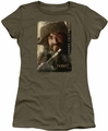 The Hobbit juniors t-shirt Bofur military green