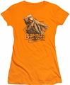 The Hobbit juniors t-shirt Bombur orange