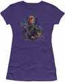 The Hobbit juniors t-shirt Daughter purple