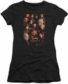 The Hobbit juniors t-shirt Dwarves Poster black