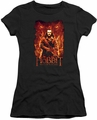 The Hobbit juniors t-shirt Fates black