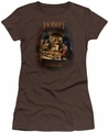 The Hobbit juniors t-shirt Feast coffee