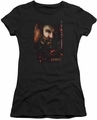 The Hobbit juniors t-shirt Gloin Poster black