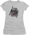 The Hobbit juniors t-shirt Gloin silver