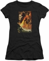 The Hobbit juniors t-shirt Golden Chamber black