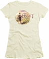 The Hobbit juniors t-shirt Hobbit In Circle cream