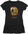 The Hobbit juniors t-shirt Hobbit In Door black