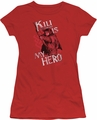 The Hobbit juniors t-shirt Kili Is My Hero red