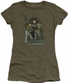 The Hobbit juniors t-shirt Kili military green