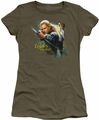 The Hobbit juniors t-shirt Legolas Greenleaf military green