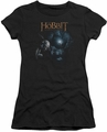 The Hobbit juniors t-shirt Light black