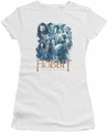 The Hobbit juniors t-shirt Main Characters white