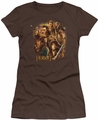 The Hobbit juniors t-shirt Middle Earth Group coffee