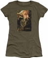 The Hobbit juniors t-shirt Oin military green
