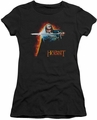 The Hobbit juniors t-shirt Secret Fire black